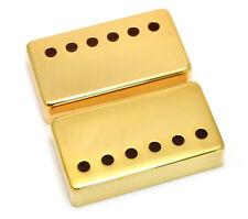 (2) Gold Covers for Modern Gibson® Humbucker Pickups Wide Bridge PC-0300-W02