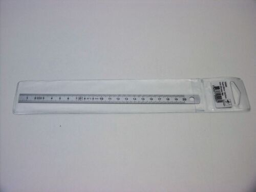 Réglet inox standard classe II flexible 200mm 20cm WILMART 105003