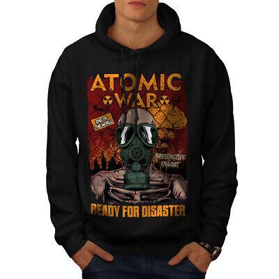 Neue Mode Wellcoda Ready For Disaster Mens Hoodie, Atomic Casual Hooded Sweatshirt Angemessener Preis