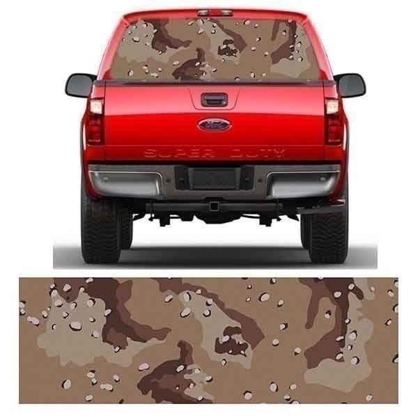 f9a8357c4e Mg2325 Desert Camo Window Truck Tint Fit Ford Dodge Chevrolet Metro Auto  Graphic for sale online