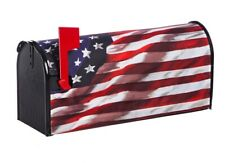 Briarwood Lane American Flag Waving Large Mailbox Cover Patriotic USA Oversized