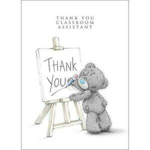 Greeting Card Small THANK YOU TEACHER Tatty Teddy Me to You