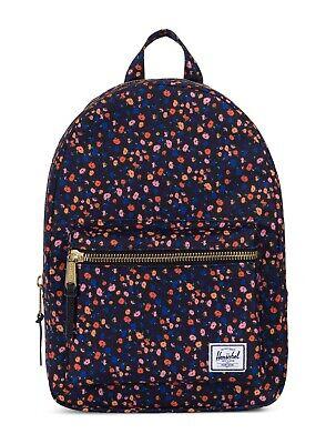 Diplomatico Herschel Grove X-small Backpack Zaino Borsa Black Mini Floral Nero Blu-mostra Il Titolo Originale