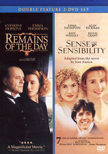 Remains of the Day/Sense and Sensibility (DVD, 2010, 2-Disc Set)