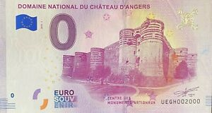 BILLET-0-EURO-DOMAINE-NATIONAL-DU-CHATEAU-D-039-ANGERS-FRANCE-2018-NUMERO-2000