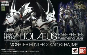 Bandai-Chogokin-Monster-Hunter-G-Class-Liolaeus-Weathering-Silver-ver-figure