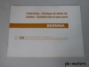 Original-Bernina-Naehmaschine-Teilekatalog-Typ-530