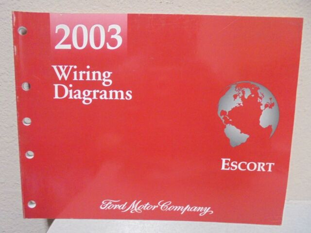 2003 Ford Escort Electrical Wiring Diagrams Shop Manual