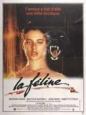 Cat People 1982 Poster 06 Metal Sign A4 12x8 Aluminium