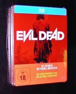 Evil-Dead-2-Disco-Steelbook-Edicion-kunda-Astratta-Montosse-Canda-Blu-Ray-Neu