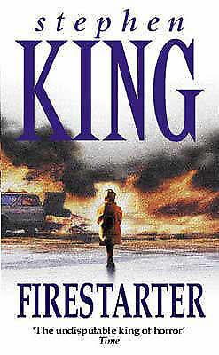 King, Stephen, Firestarter, Paperback, Very Good Book