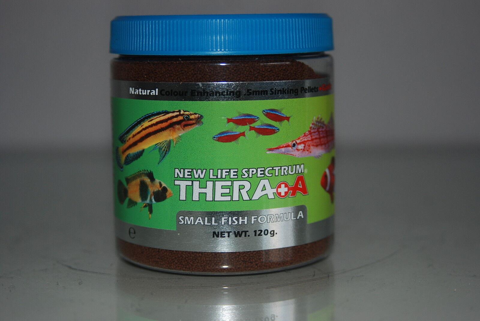 New Life Spectrum Thera  A  Small Fish Formula + Extra Garlic 1600g Bucket 0.5mm