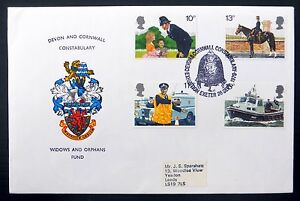 GB Devon & Cornwall Police Constabulary Official FDC FP8976