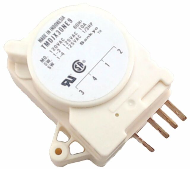 Frigidaire Refrigerator Defrost Timer 241809402 215846604