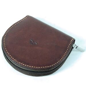 Leather-Zipped-Coin-Purse-Tony-Perotti-Italian-Leather-Brown-TP-1123G
