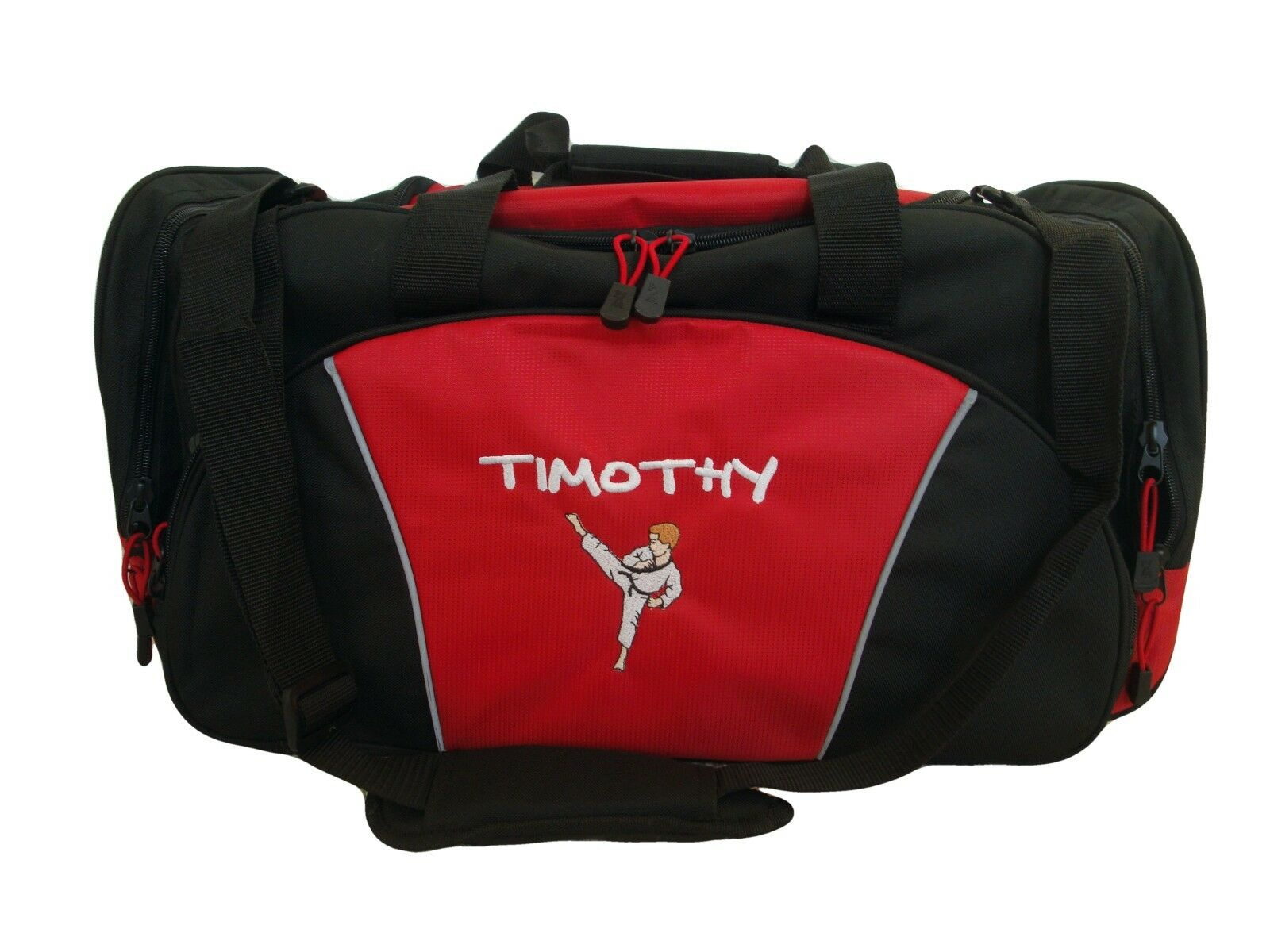 Duffel Bag Personalized Karate Boy Martial Arts Kung Fu  Tae Kwon Do Asian Boxing  free shipping & exchanges.