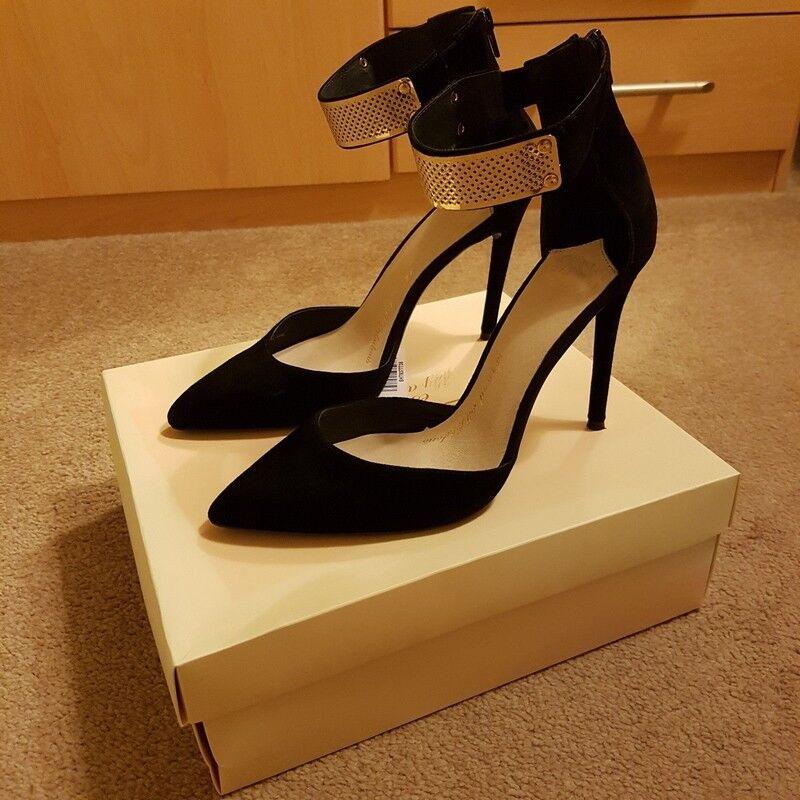Sexy Sandalo pelle scamosciata - High heel 11 cm  (4.5  )  EU 42 - UK 9
