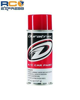 Duratrax PC254 Polycarb Spray Paint Racing Red 4.5 oz DTXR4254