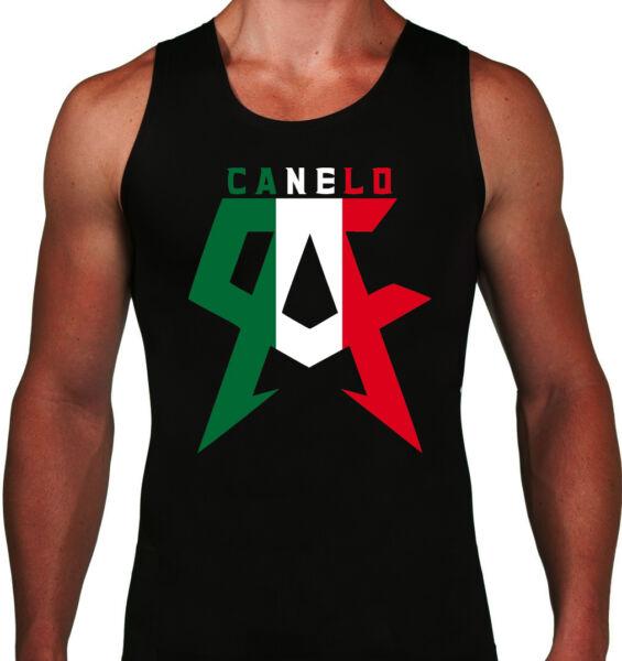 Canelo Mens Tank Top Saul Alvarez Boxing Champion Mexico Flag