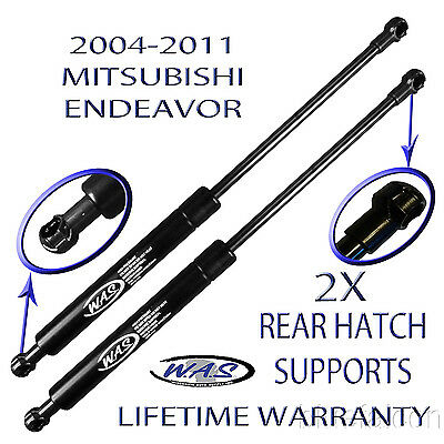 Two New Rear Hatch Liftgate Lift Supports Rod For 04 05 06 07 08 10 11 Endeavor