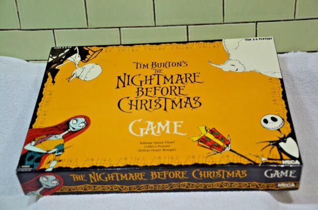 vintage nightmare before christmas board game new old stock 047 - Nightmare Before Christmas Board Game