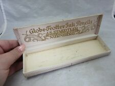 Vintage 1920's BOX for Globe Trotter ink pencils made in Germany