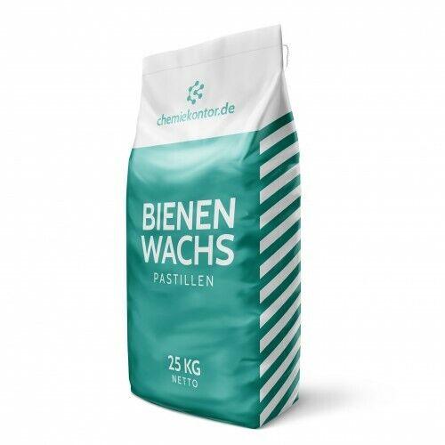 kosmetische Qualität 25kg Pastillen 250g Bienenwachs 500g 1 kg 5kg