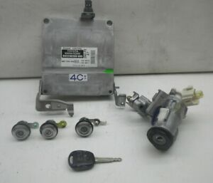TOYOTA Yaris Verso P2 Steuergerät Motor Motorsteuergerät 89666-52200 Zündschloss