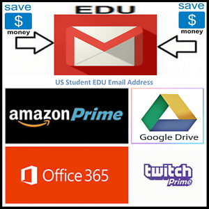Edu-Email-6-Months-Amazon-Prime-Unlimited-Google-Drive-Storage-US-Student-Email