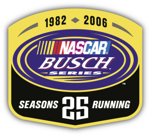 Busch Series Nascar Racing Car Bumper Sticker Decal 3/'/' 5/'/' or 6/'/'