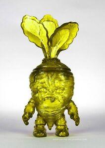 Deadbeet Gummy Jaune Kaiju Vinyl Art Sofubi Figure 30 Fabriqué par Scott Tolleson Rare
