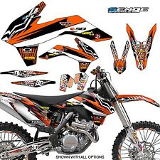 2001 (with old style plastics) KTM SX 125 250 380 400 520 GRAPHICS DECO DECALS