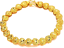 24k-Yellow-Gold-Linked-Chain-Hearts-Womens-Bracelets-Bangle-Large-9-034-GiftP-D149 thumbnail 5