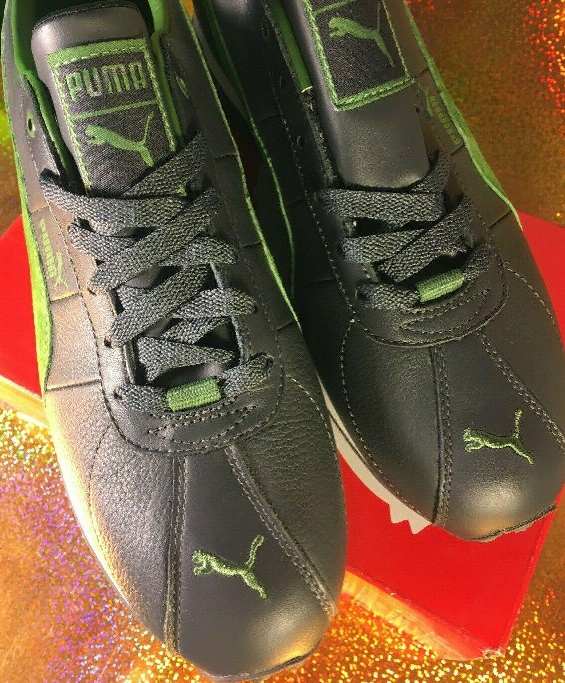 Puma  classic classic size 6.5 men,grey green,medium