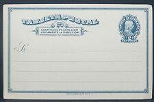 Costa Rica Tarjeta Postal Stamped Card Ganzsache 2 Centimos  (Lot I-389