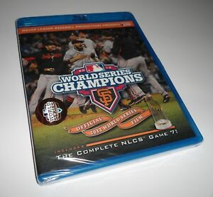 MLB-2012-World-Series-Champions-San-Francisco-Giants-Baseball-NLCS-Blu-ray-NEW