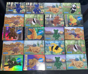 Lot-of-150-TY-Beanie-Babies-1990s-Collector-Trading-Cards