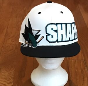 7c346a51c4daa6 Image is loading Excellent-Condition-47-Brand-San-Jose-Sharks-SnapBack