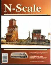 N - Scale March/April 2004 Beer/Beverage Cars Layouts Turntables Rotary Car Dmp