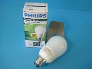 Details About New Philips Light Bulb Lamp 200808 A19 El A Swp 120v 9w 40w Soft White Plus Cfl