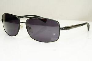 Carbon Fibre Authentic PRADA Mens Vintage Sunglasses Black SPS 500 DG0-1A1 31124