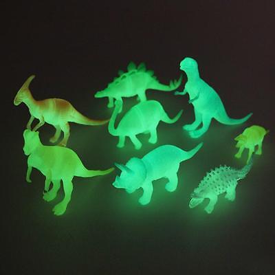 8 Night Light Noctilucent Dinosaur Animal Figure Child Toy Gift Kid
