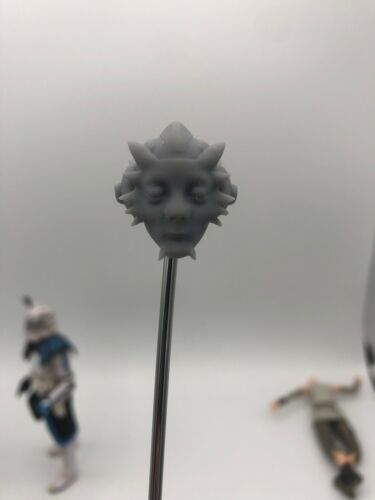 Star wars Neeku Vozo custom head sculpt hasbro black series