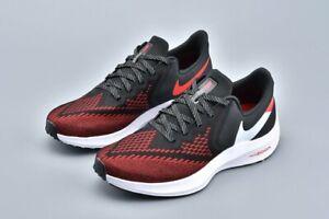 creencia Omitido Rugido  Nike Zoom Winflo 6 Para hombres Zapatos para Correr  Negro/Blanco-Universidad Rojo Talla 11.5 - Nuevas Con Caja | eBay