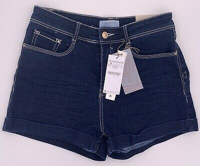 * Neu * Stradivarius Shorts Denim - High Waist - Gr. 38 - Jeans Blau