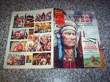 ALBUM LA STORIA DEL WEST PEA-EDIS 1978 COMPLETO OTTIMO TIPO PANINI-LAMPO-FLASH
