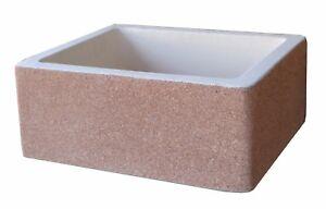 Vasca Da Lavare In Cemento : Bonfante lavello acquaio da muro cemento marmo maiella rosa verona