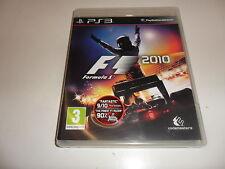 PlayStation 3 PS 3  Formula 1 2010