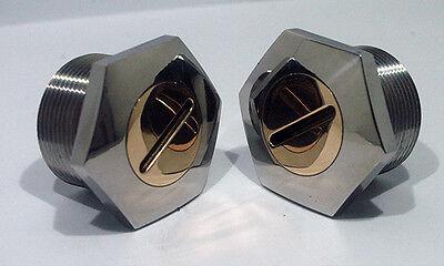 C15 65-5331 Gold Star B31 A65 Fork Top Nuts BSA A10