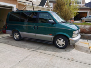 1998 Chevy Astro / Safari AWD Camper Conversion
